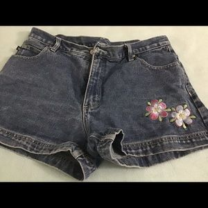 Denim shorts, size 13